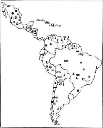 Мінеральні ресурси країн Латинської Америки