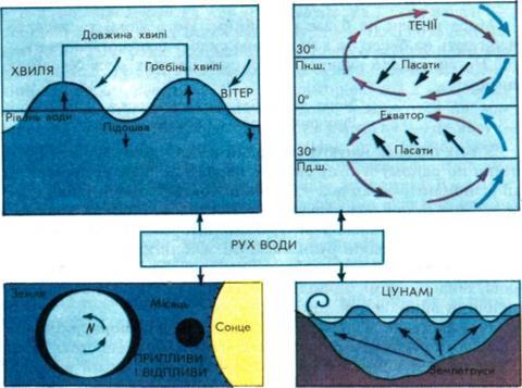 Рух води в Світовому океані