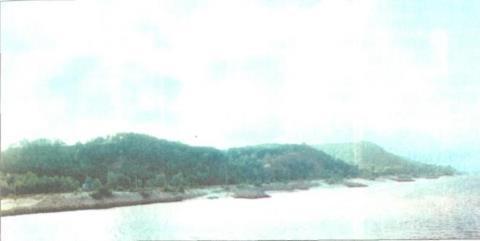 Канівські гори. Вигляд з Дніпра
