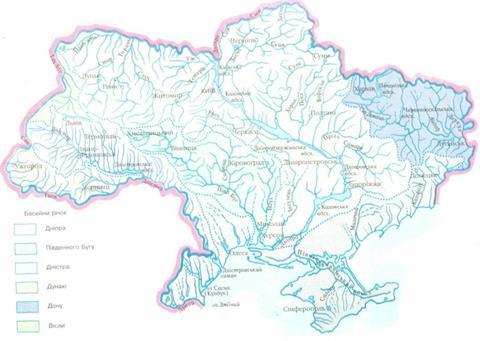 Річкова мережа України